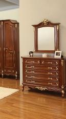 Oglinda pentru Comoda Royal GOLD
