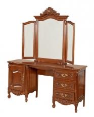 Toaletă 1 ușă, 3 sertare cu ramă oglindă Mogador