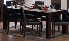 Set Elegant - Masa Cube ext 140 + 6 scaune Ada