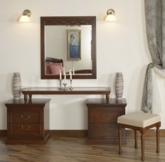 Toaleta cu rama oglinda Anastasia